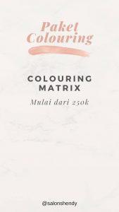 Paket colouring salon panggilan jogja
